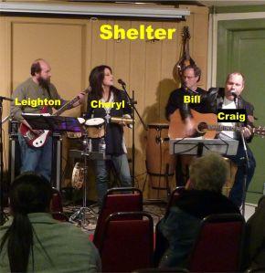Shelter web